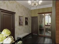 Комната между спальней и ванной комнатой