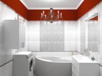 Ванная комната (вариант с люстрой)