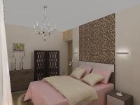 Спальня 2 вариант  (с гардеробной)